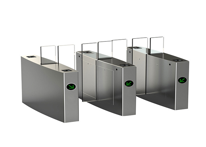 Automated motorized Access Control Turnstiles for pedestrian Biometric fingerprint attendance