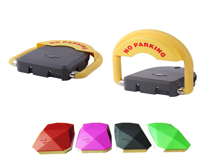 Lithium Battery Powerd Car Parking Lock Wireless Communication Technolog